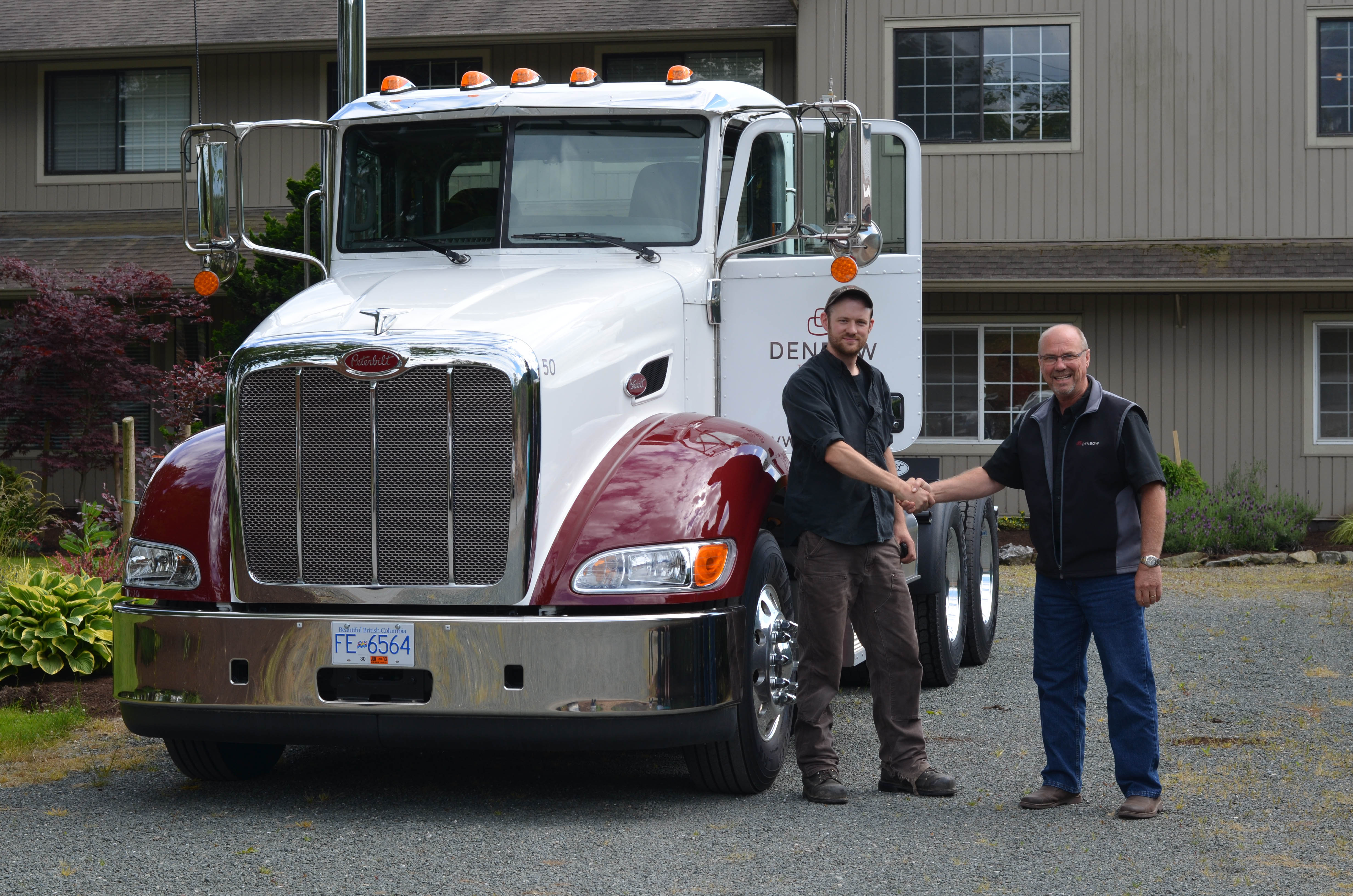 Denbow New Truck #50 - Bill & Josh