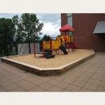 Denbow PlayChips - fall protection in playgrounds