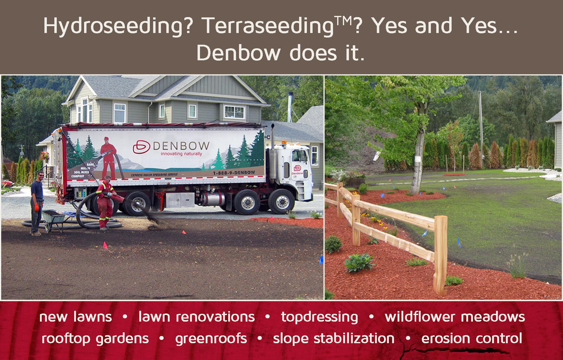Denbow seeding services