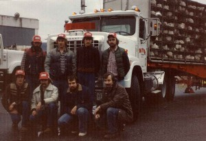 Old Denbow photo of the crew