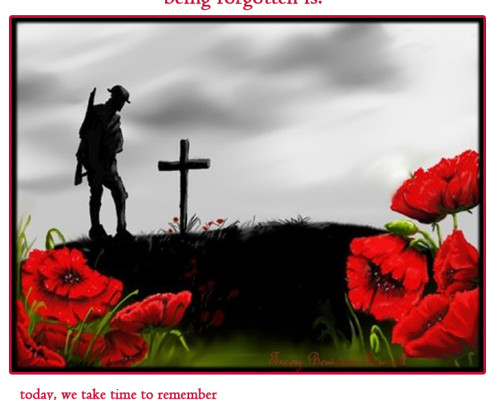 Denbow Remembrance Day