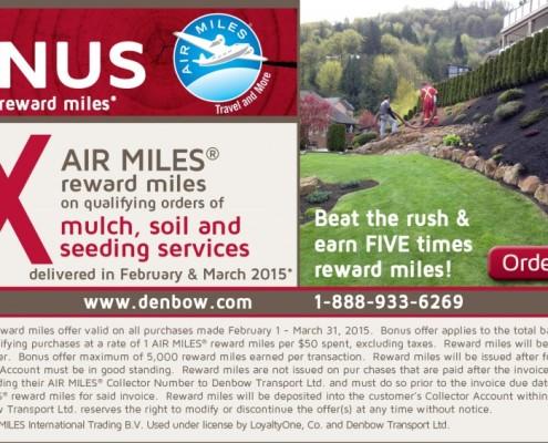 BONUS-Mulch-Soil-Seeding - Air Miles