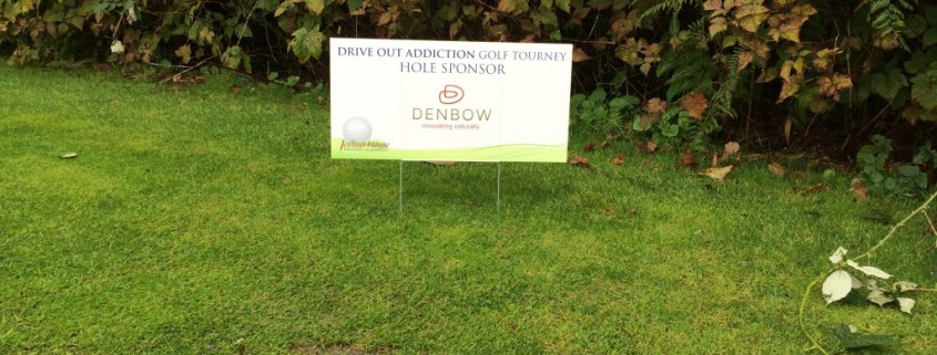 Drive-Out-Addiction-Golf-Tourney - Denbow Sponsor
