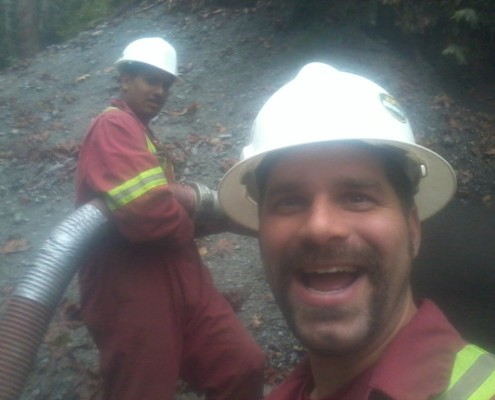 Smiling Denbow employees