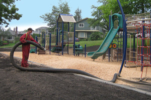 Playground Wood Chips Installation Services