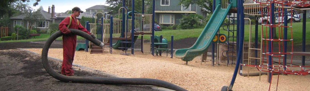 Playground wood chips the better alternative to rubber