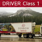 denbow hiring class 1 driver walking floor trailer