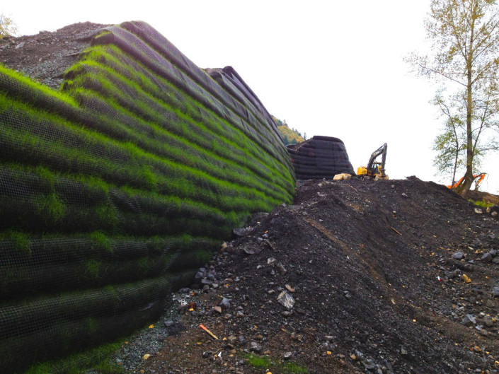 Cascadia Wall Rexford Place Project