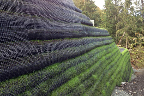 Sustainable Development - Cascadia Green Wall System
