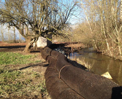 Enviro Dyke water retention project Abbotsford