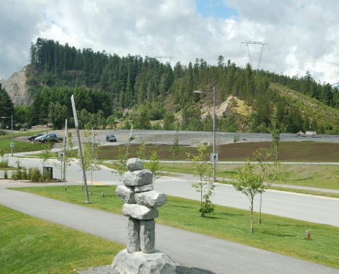 Bayli Park, Whistler Landscape Revegetation