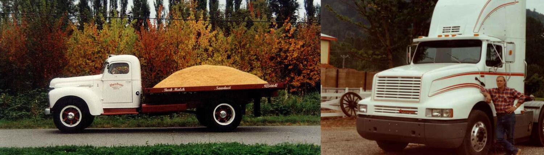 Denbow Company History - old trucks