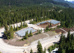 Whistler onsite composting by Denbow - 2010 Olympics