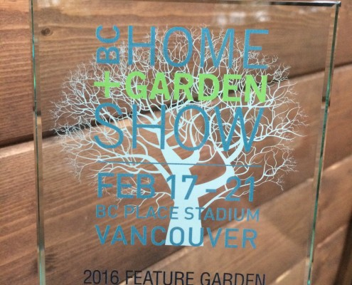 BC Home and Garden Show Award