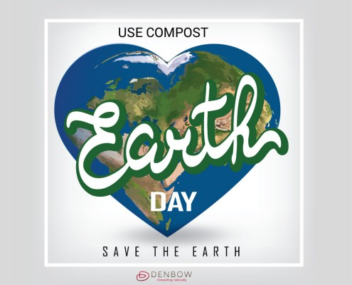 Earth Day - Use Compost. Save the Earth.