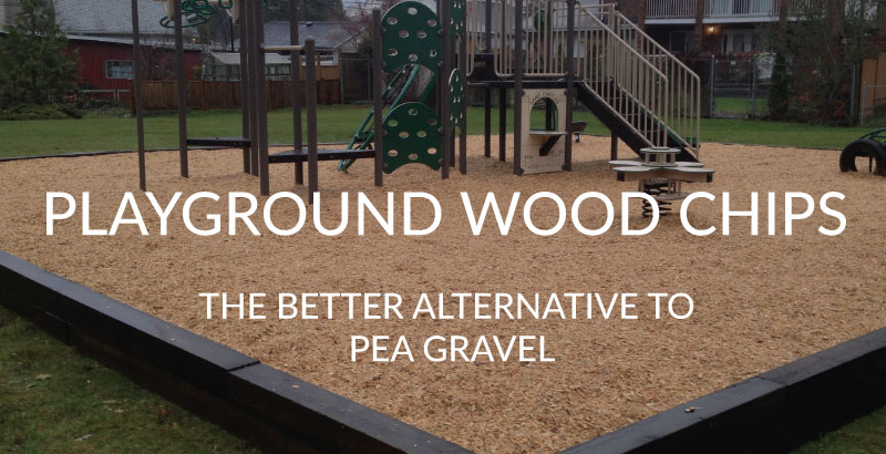 Playground wood chips a better alternative to pea gravel