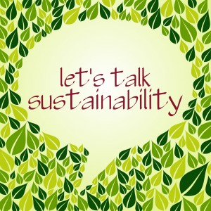 lets talk sustainability