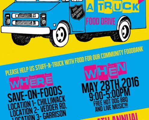 Stuff a Truck Chilliwack - Denbow Sponsorship