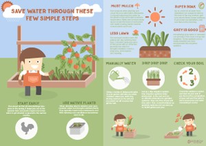 download the water saving infographic