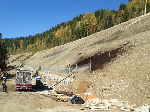 stone creek installation of ecoblanket installation 2