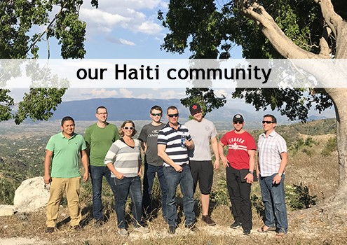 our haiti community