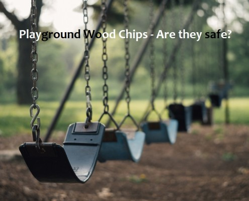 Are playground wood chips safe?