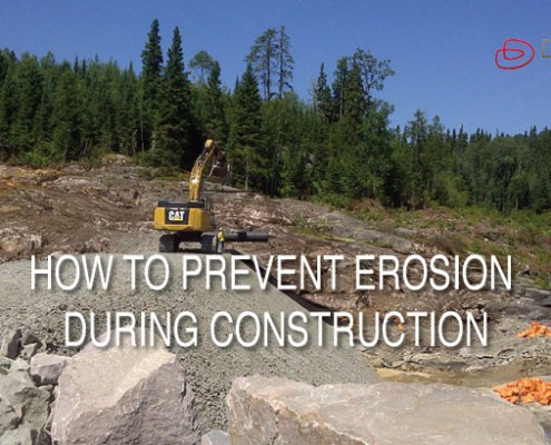 article on HOW TO PREVENT EROSION DURING CONSTRUCTION in british columbia canada