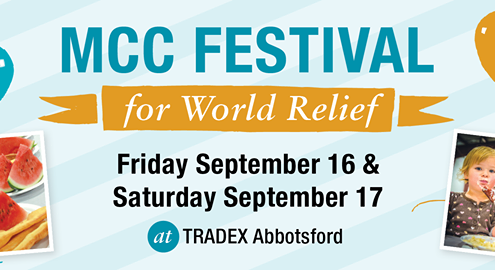 we support mcc festival for world relief