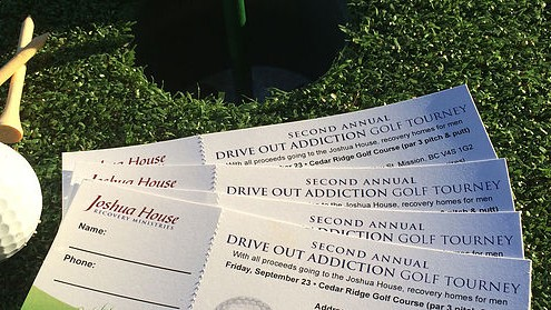 drive out addiction golf tournament