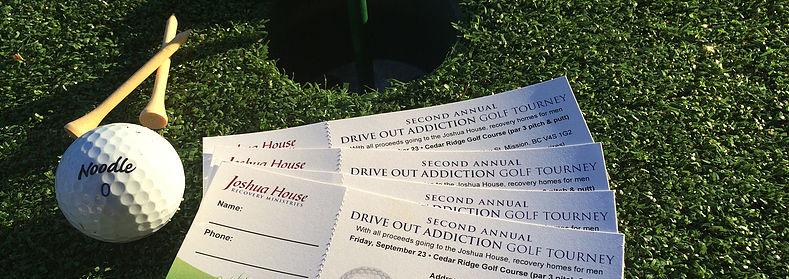 drive out addiction golf tournament